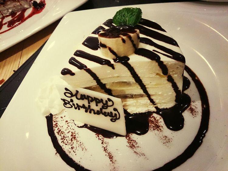 prefer match! Banana layer cake! Dessert Dinner HKFood Cake