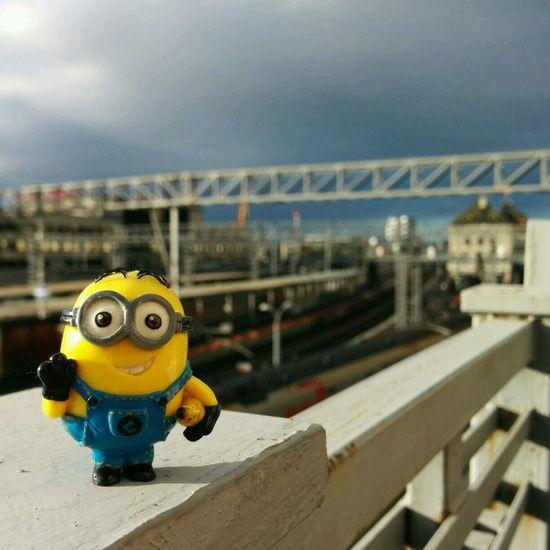 Dave's Adventures Train Station Hello, Vladivostok :-) HOME AGAIN  Minion