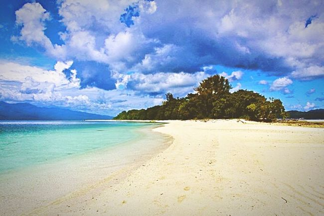 Beach Cloud - Sky Sand Sea Island Sky Tree Landscape Dramatic Sky Blue Travel Destinations Vacations Cloudscape Idyllic Water Tropical Climate Tranquility Nature Travel Scenics natsepa beach... ambon city