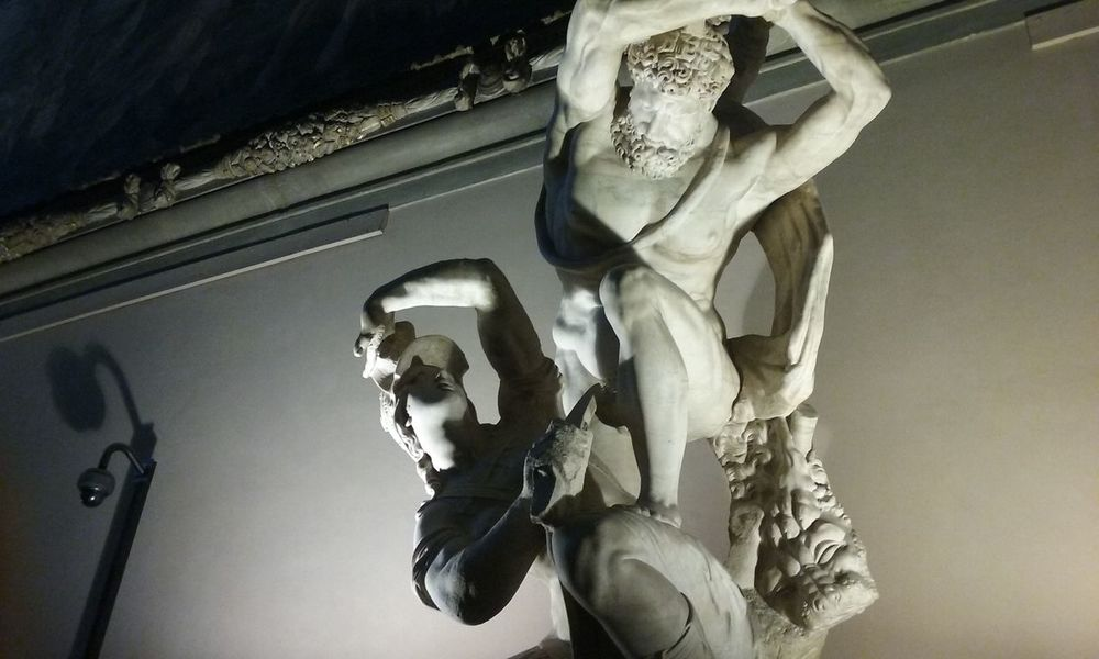 PalazzoVecchio Firenze Statue Italy Sculpture Day Indoors  Human Body Part Scultura Light And Shadow