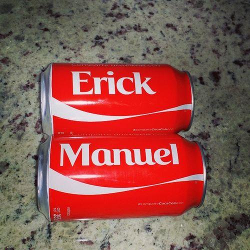 Ernuel Erik Manuel Lata Cocacola Coleccionandomomentos