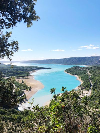 Gorges du Verdon Landscape River Turquoise Gorge Du Verdon Water Tree Plant Sea Sky Scenics - Nature Beauty In Nature First Eyeem Photo EyeEmNewHere