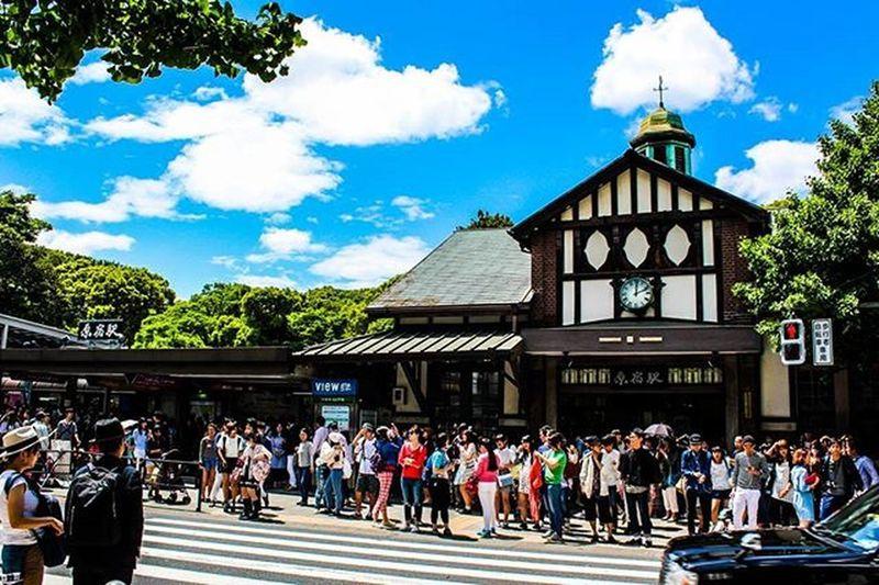 🚈 어디선가 본 듯한, 하라주쿠역 도쿄 도쿄여행 해외여행 하라주쿠 하라주쿠역 여행스타그램 여행사진 빈카메라 Tokyo Travel Journey Harajuku Snap Bincamera