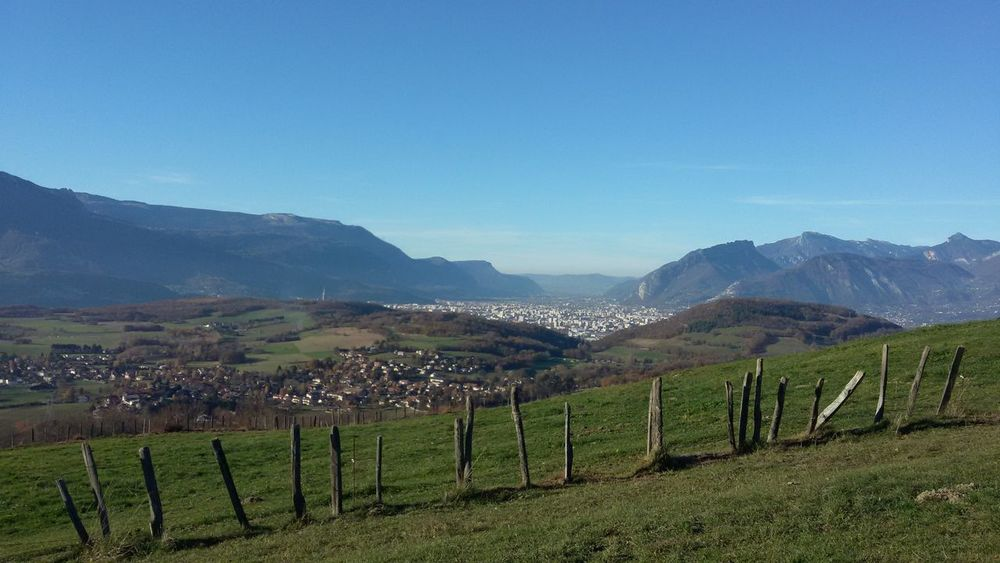 Grenoble Isere  Nature France Alps Mountain Belledonne Cityscape Walking Around Peaceful Beauty In Nature Outdoors Springtime Landscape