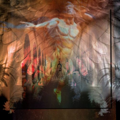 """Divine Intervention"" Mextures Angel Saints Artpose Sinners And Saints"