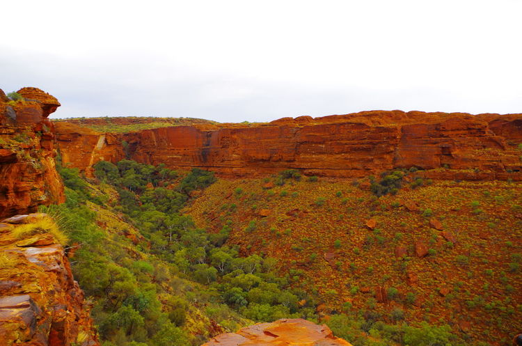 Kings Canyon Nature Rock Formation Cliff Cloud-sky Day Landscape Outdoors