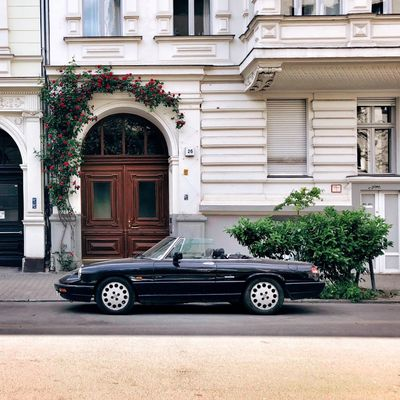Cabrio Convertible Summer In Berlin Summer Days Architecture Built Structure Building Exterior Mode Of Transportation Building Transportation Motor Vehicle