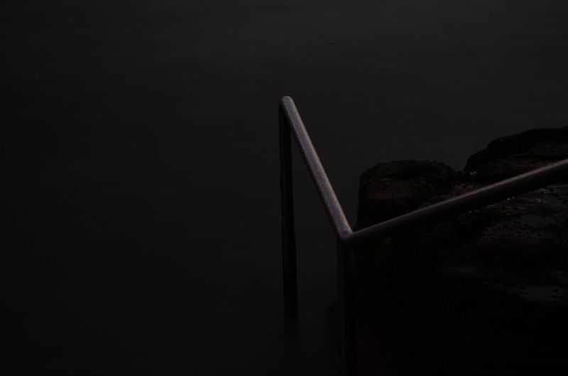 Black Background Close-up Connection Copy Space Dark Equipment Indoors  Low Angle View Nature Night No People Side View Single Object Sky Still Life Studio Shot Tranquility Travel Two Objects