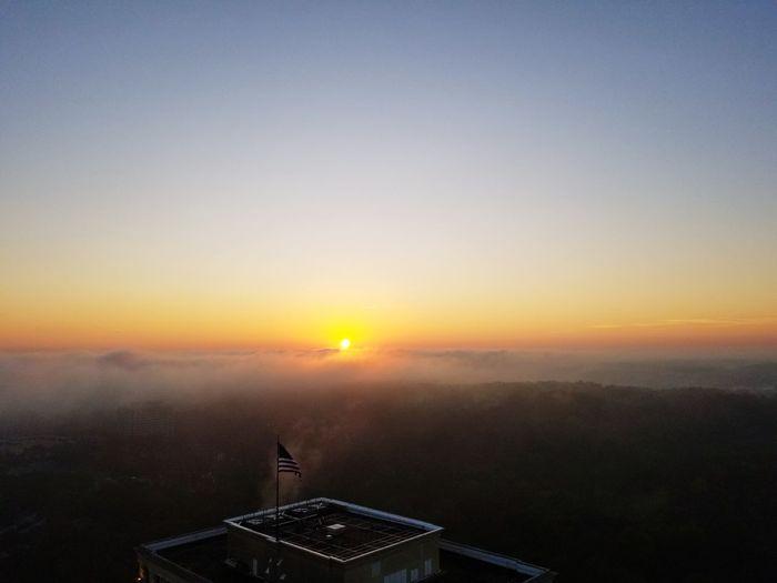 Sun rise Atlanta