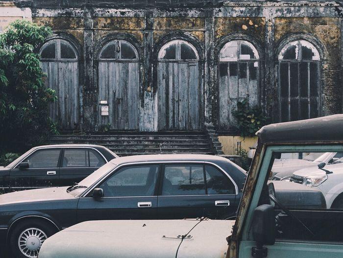 Abandoned Places Mumbai Cars