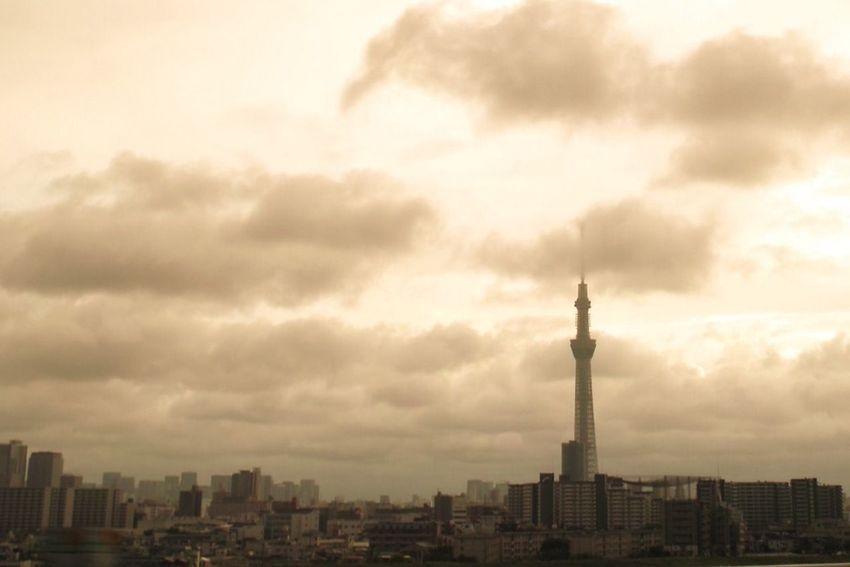 お疲れさま。 SigmaDP1X Twilight Tokyo Sky Tree おつかれさま