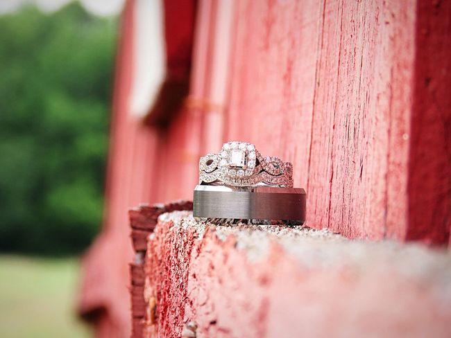 Red Close-up Weddingrings Goingtomarrymybestfriend Ourrings Diamonds Kayjeweler I Said Yes ♡  Vintagecountrywedding