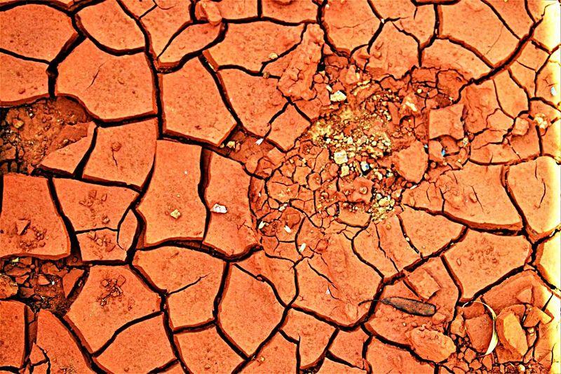 Cracked earth, remote Australia Travel Destinations Desert Dry Extreme Terrain Barren Textured  Land Environment Nature Cracked No People EyeEmNewHere The Week On EyeEm WeekOnEyeEm