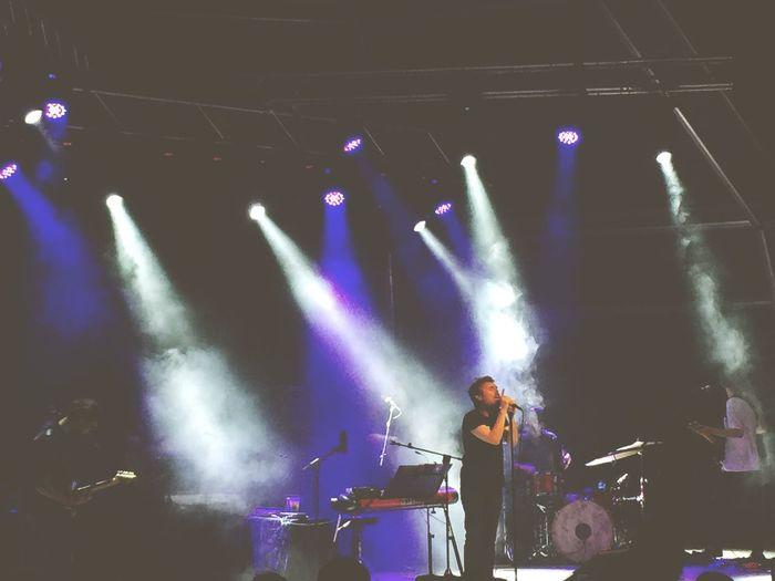 Concierto de Ivan Ferreiro con su nuevo disco Casa. First Eyeem Photo