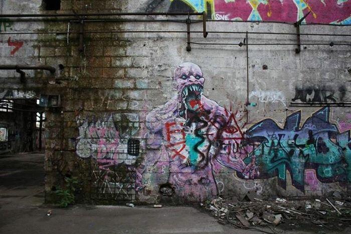 Graffiti Street Art Forgetplaces Abandoned Wall Indoors  No People 18-55mm Lostshot Canonshot Art Kunstausdruck Lost