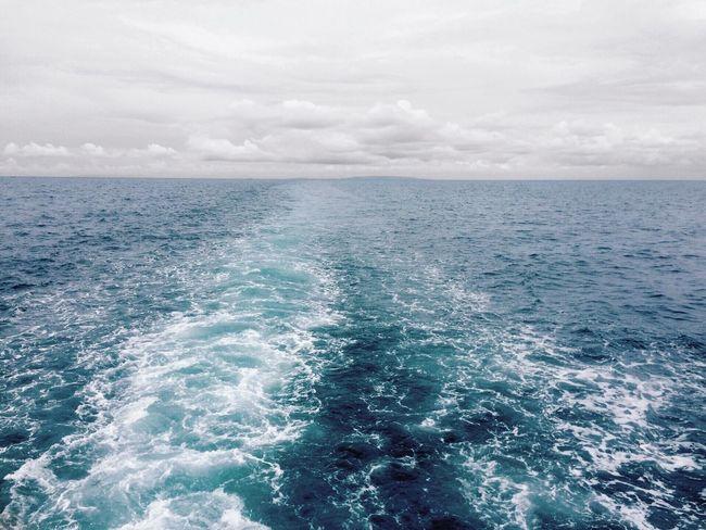 Sea And Sky Skyporn Blackandwhite