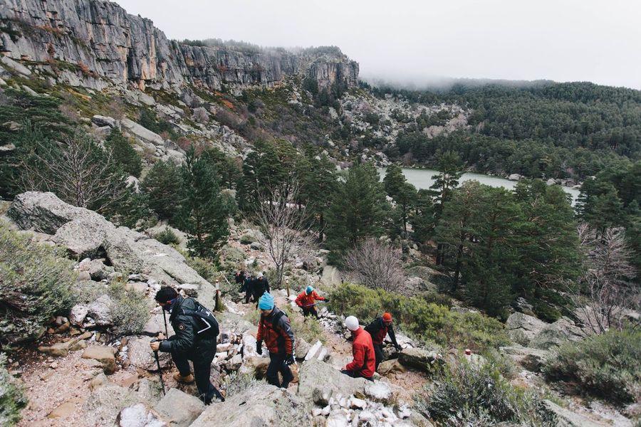 Con Mis Amigos Friends Mountains Nature People Vscocam VSCO EyeEm Best Shots Landscape