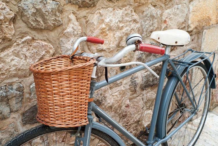 Vintage bike on