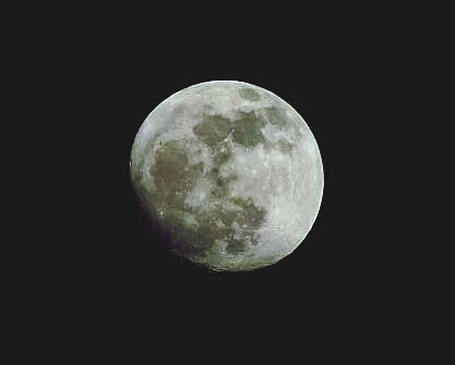 the moon photo taken on Fuji film 18x zoom 16mp