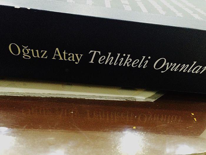 Oguzatay TehlikeliOyunlar Books Reading AlimCan