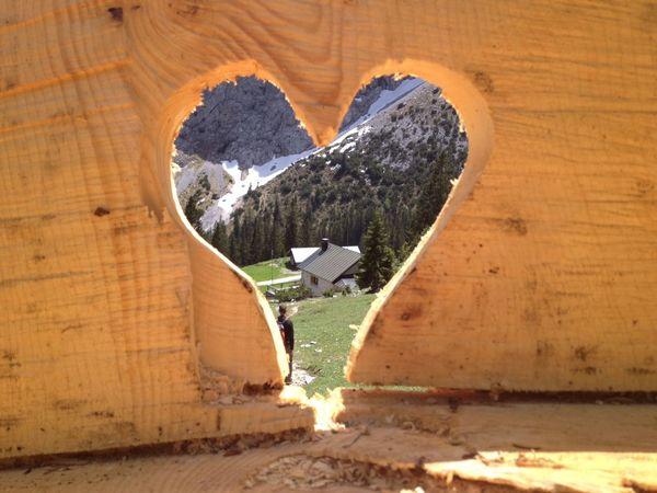 Alpen Holz Kunst