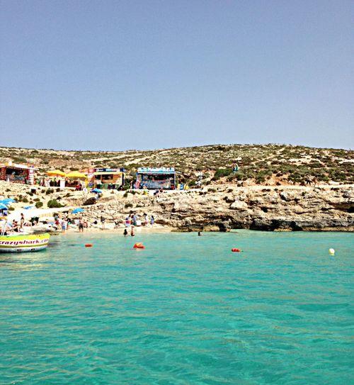 Blue Lagoon Mediterranean  Malta Beach