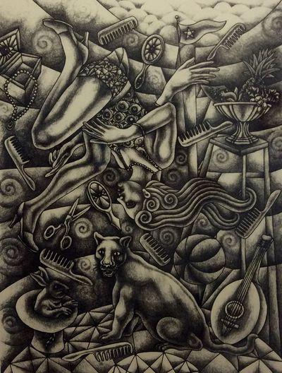 Eddie Martínez Litografia Art Artist Terracota Arte Actual Oaxaca México  Mérida Yucatán Art Gallery Paseo De Montejo