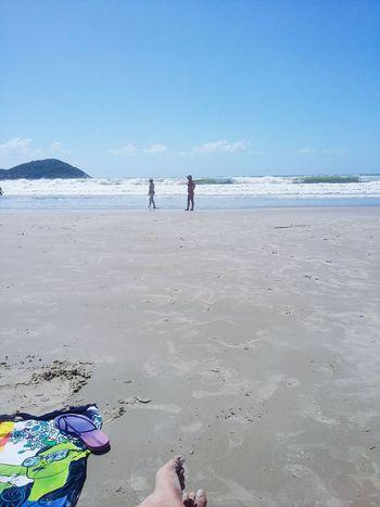 Saudades praia