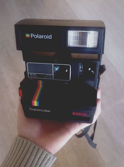 Polaroid Supercolor 635CL Instant Camera Polaroid 635 Supercolor Vintage Film SPAIN Open Edit