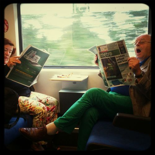 what's...... Public Transport Reading Hot News What Are You Reading?