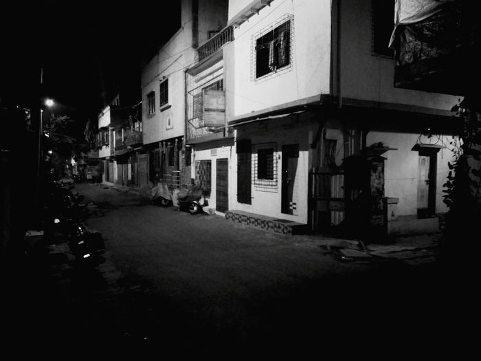 No People Night Street City Street Light Architecture Building Exterior Illuminated Outdoors Sky