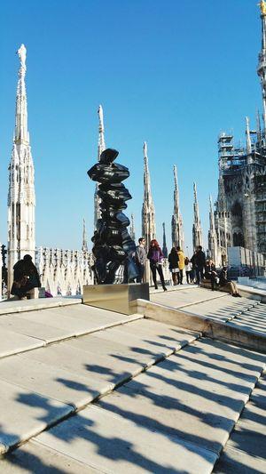 Milan Duomo roof Milano Architecture