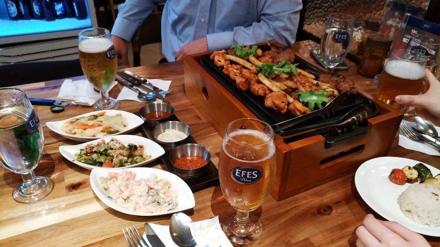 大学の先輩の送別会。 Food And Drink Beer Maton  Pork Food Turkey Food Seoul South Korea トルコ料理 ビール ソウル 孔徳洞