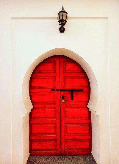 Ancient Door Ancient House Moroccan Architecture Moroccan Architecture Moroccan Culture Antique History Closed Door Entrance Red Built Structure Arch No People Outdoors Day Entry Architecture
