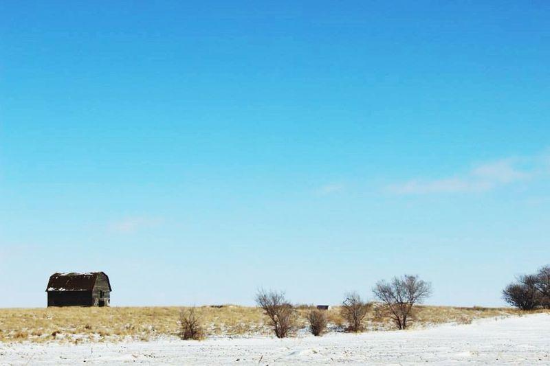 Barn Prarie Saskatchewan Beautiful Feilds