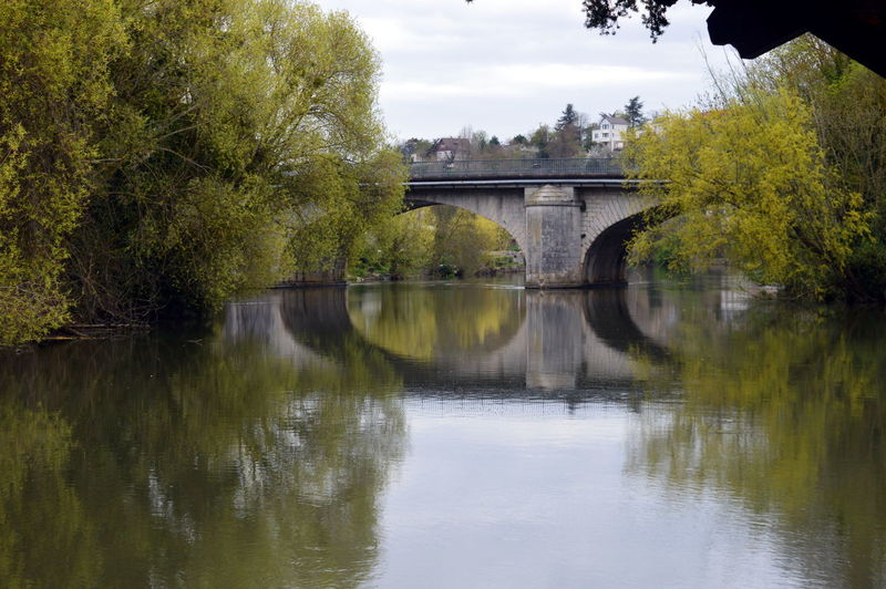 Pont Vert Foret Rocks And Water Bien Profite Voyage Riviere Eau Cours A étang Vie Bien être Tree Water Watermill Bridge - Man Made Structure Business Finance And Industry Reflection River Sky Architecture Built Structure Water Wheel Countryside Reflection Lake Calm Tranquility Scenics