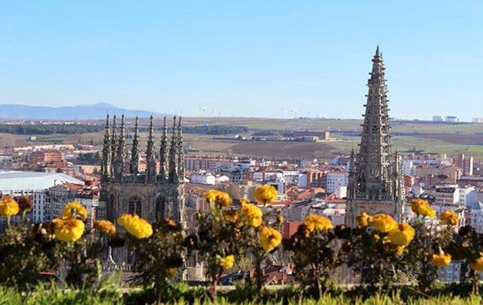 El Cimborrio y la aguja Catedral de Burgos Artegotico