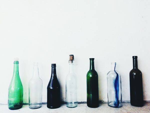 3R's Reduce Reuse Recycle Winebottles House Decor Classic