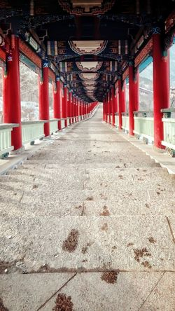 Traditional Culture In China Built Structure No People Outdoors Wintertime Hallway Find Beauty Anywhere You Can Smartphone Photography Head Up Original Experiences Walking Around And Taking Pictures Altitude 2200m Climbing A Mountain Lanzhou City View Hahahaha 😂😂😂😂😂 Colorful Cold Temperature Stepbystep