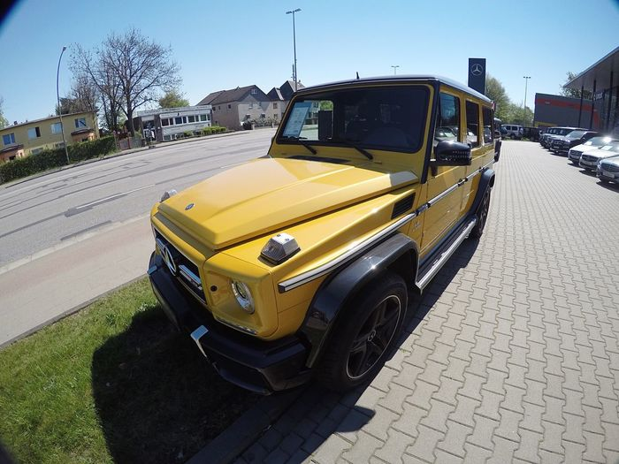 Hello World Taking Photos Car GERMANY🇩🇪DEUTSCHERLAND@ Sunny Day Mercedes 4x4 G Class