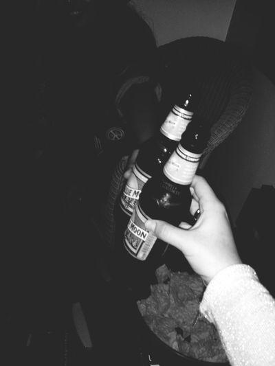Blue Moon Beer Drunk Nights