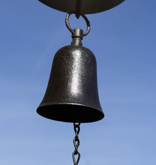 Antique Beautiful Day Bell Blue Sky Clear Sky Close-up Day Low Angle View Metal Metal Bell No People Outdoors
