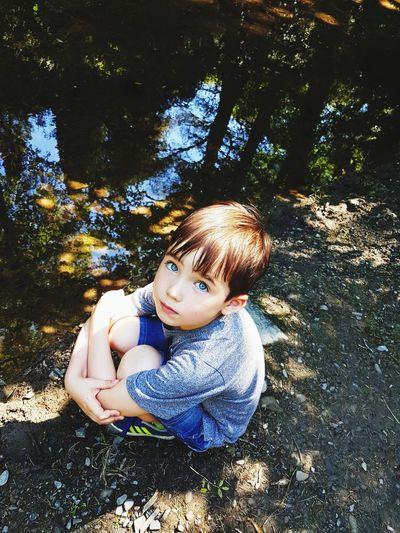 Sulking! Lookatmyeyes Moody Child Autumn Colwyn Bay Walks In Nature Tree Childhood Child Sitting