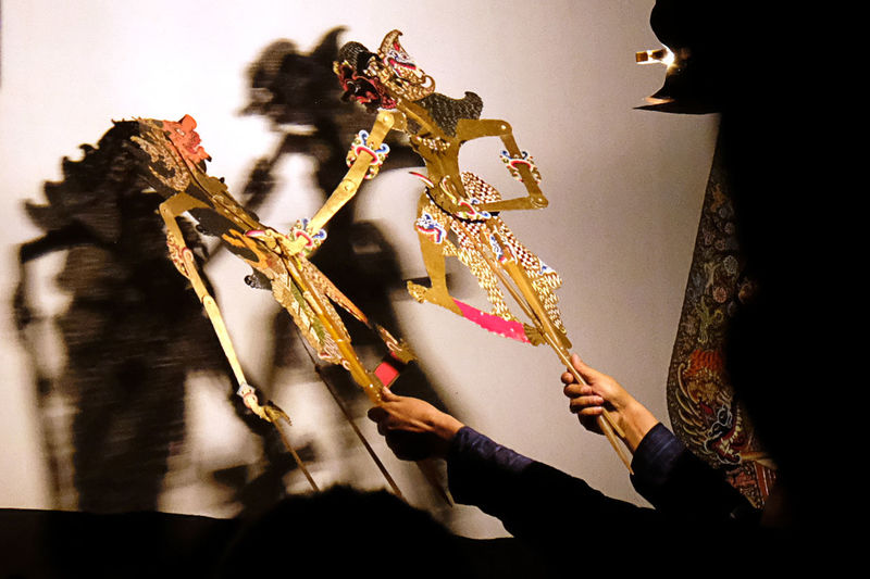 Javanese Wayang Kulit (Leather Shadow-Puppets)... Arts Culture And Entertainment Puppets Puppet Show Wayang Wayang Kulit Wayang Art Work Of Art Traditional Traditional Culture