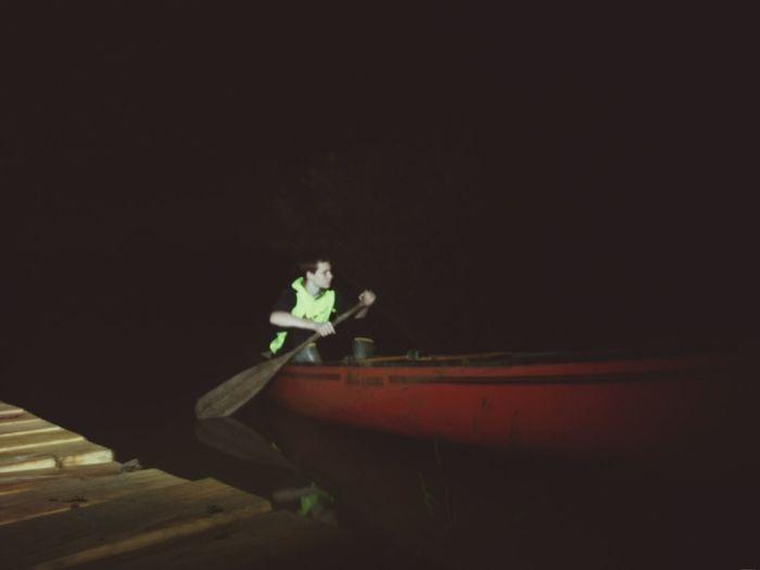 Night Outdoors Canon