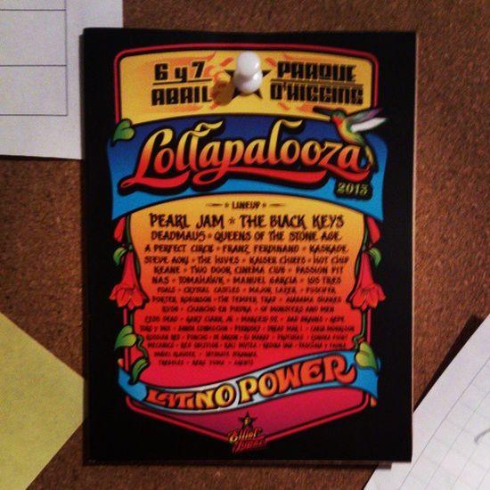 Próximo año, vamos con todo Lollapaloozacl
