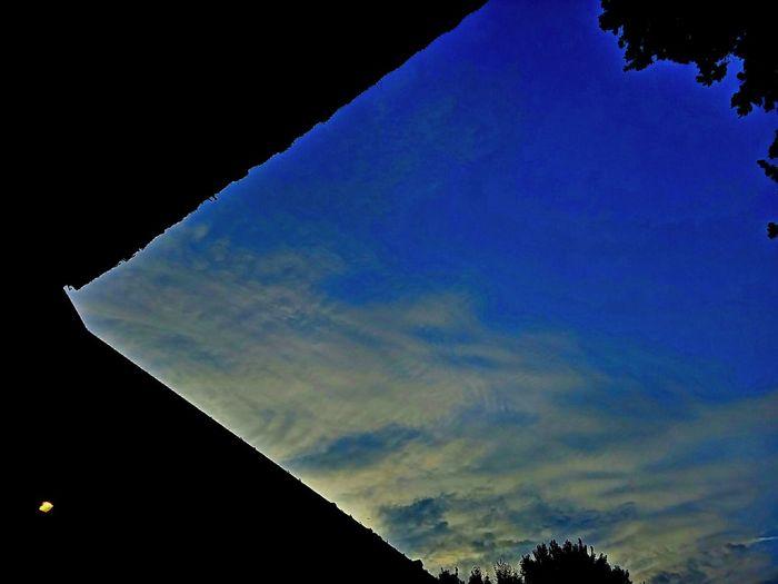 Sky Lines Colorful Corner