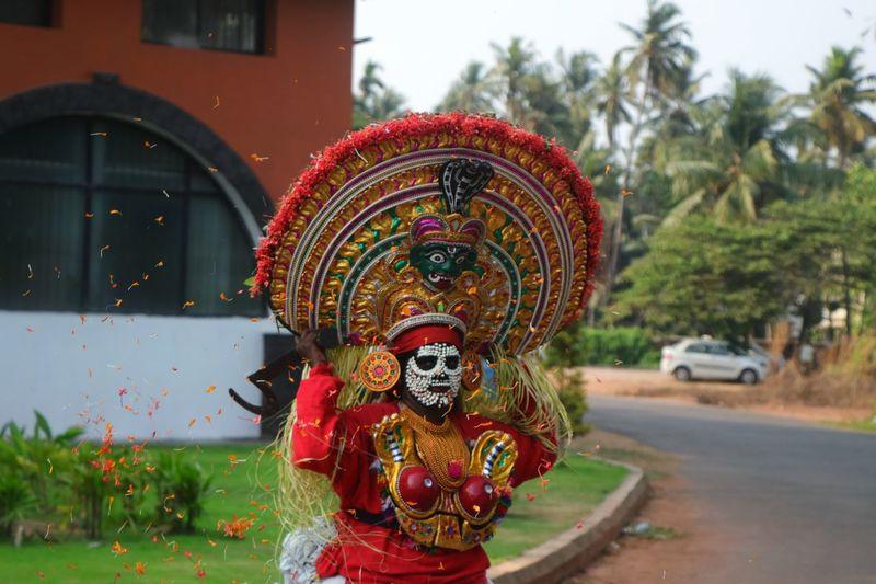 MUDIYETTU ART FORM EyeEmNewHere Mudiyettu Kaali Kerala Performing Arts Tradition Female Likeness