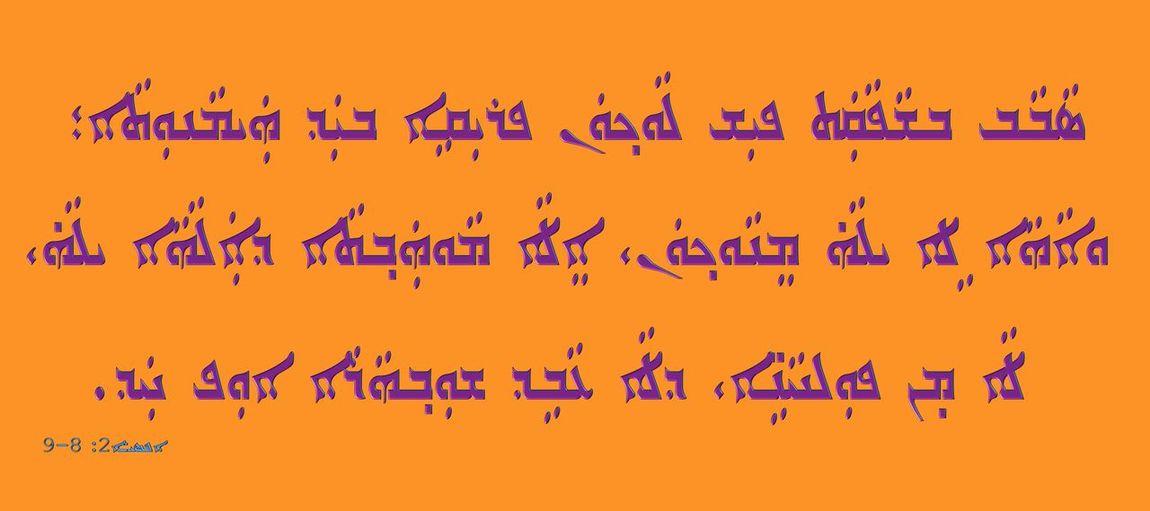Close-up of text