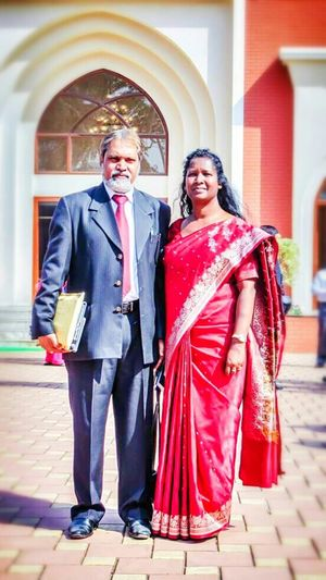 Parenthood Parents Love ♥ Care Happiness ♡ Together For 25 Years Marriedlife Indian Couples❤❤❤ Christianity